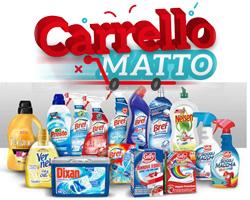 Carrello Matto Henkel: vinci prodotti gratis