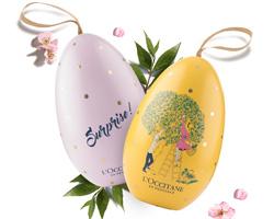 Gioco di Pasqua L'Occitane: vinci carte regalo da 50€
