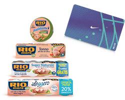Rio Mare vinci gift card Nike da 200€
