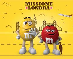 M&M's: vinci Londra e l'M&M's World