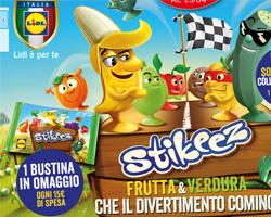 Ricevi Stikeez Frutta & Verdura in Omaggio da Lidl