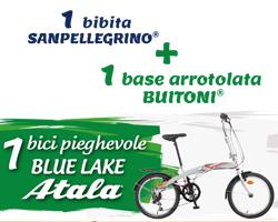 Vinci biciclette Atala con Buitoni e San Pellegrino