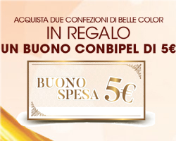Buono Conbipel da 5€ in regalo con Garnier Belle Color