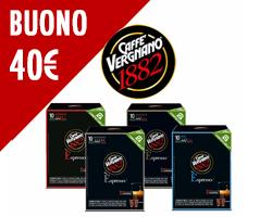 Vinci buoni Caffè Vergnano da 40€