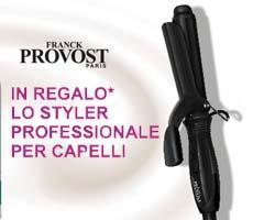 Styler professionale per capelli  in omaggio con Franck Provost