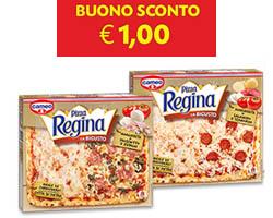 Pizza Regina La Bigusto: stampa il buono sconto