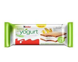 Campioni omaggio Kinder Fetta allo Yogurt