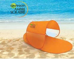 Tenda da spiaggia in regalo con Ambre Solaire