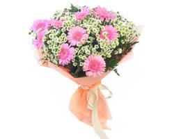 Sconto Mazzo di fiori Rosa con Italian Flora