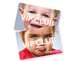 Vinci gratis la Vip Club Card di Prenatal