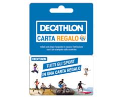 Buoni Decathlon da 5 euro con Sperlari, Galatine, Saila e Dietorelle
