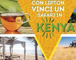 Con Lipton vinci un Safari in Kenya