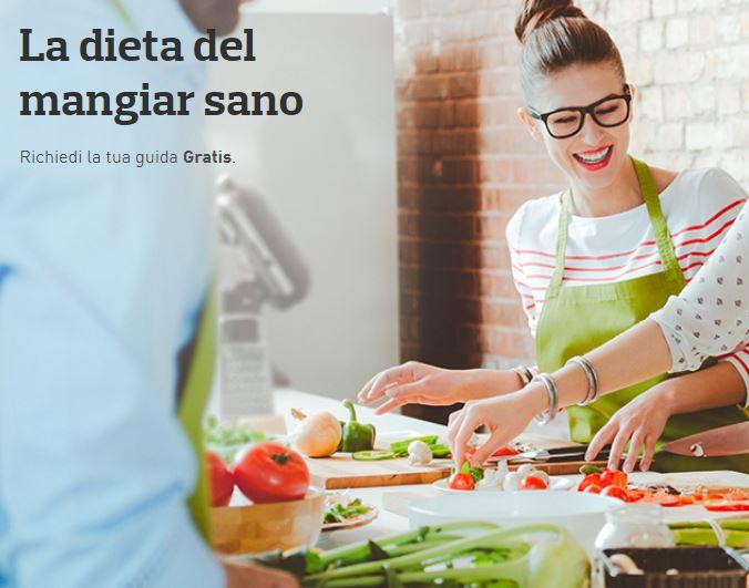 La dieta del mangiar sano. Richiedi la tua guida Gratis!
