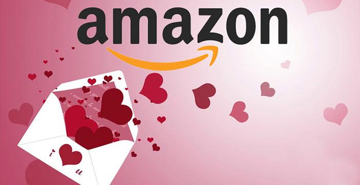 le offerte amazon per san valentino