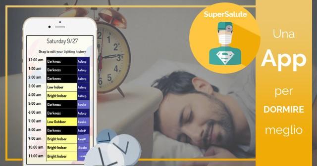 App per dormire meglio