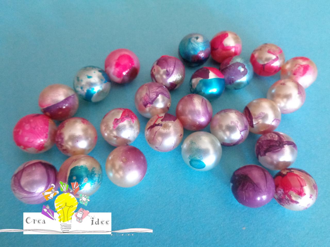 perle marmorizzate finito