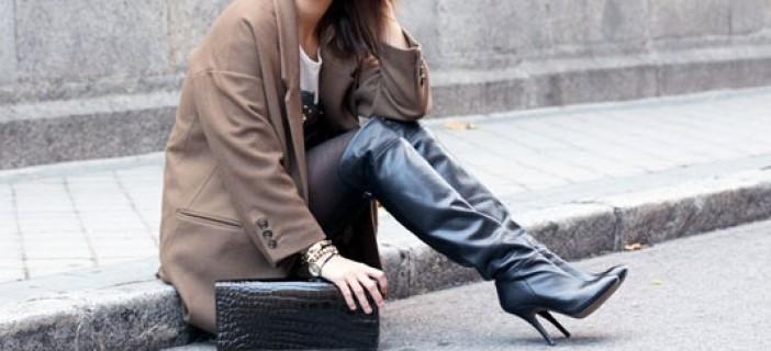 Stivali al ginocchio, consigli di stile Blog Buoni Sconto
