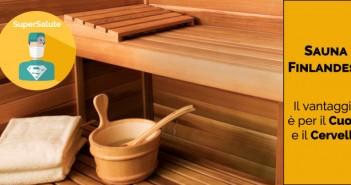 benefici sauna finlandese