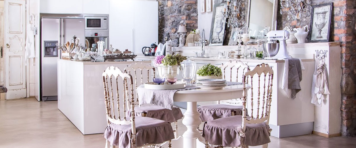 Stile shabby chic e moderno for Replica mobili design