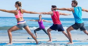 fitness spiaggia