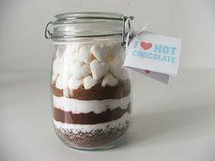 cioccolata in barattolo