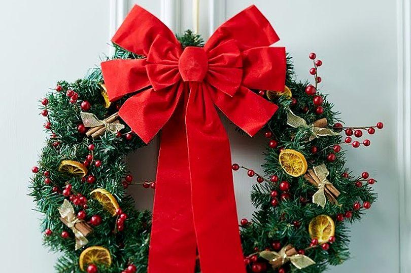 una classica decorazione natalizia fai da te