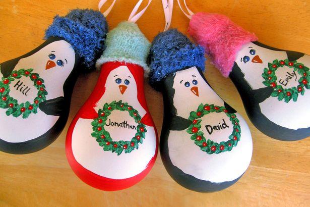 una simpatica idea per una decorazione natalizia fai da te