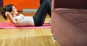 smaltiamo qualche kg con l'allenamento in casa
