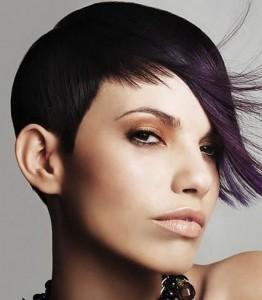seconda variante rock del taglio di capelli corti