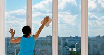 hai studiato come pulire i vetri