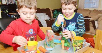 alcune idee per lavoretti d'inverno per bambini