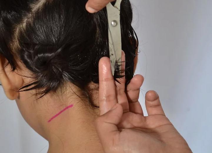 rimuovi il volume quando tagli i capelli ai bambini