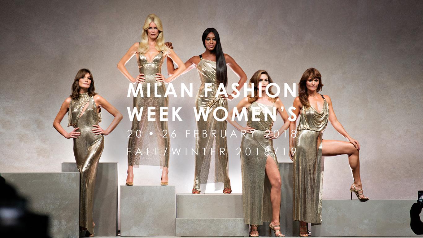Milano fashion week 2018 tutte le date blog buoni for Fashion week milano 2018