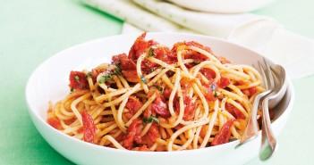 i piccanti spaghetti della cucina del riciclo