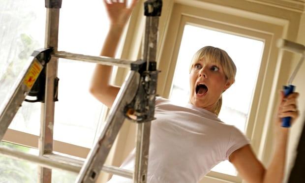 un incidente coperto dall'assicurazione casalinghe