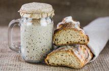 Pasta madre e pane fatto in casa