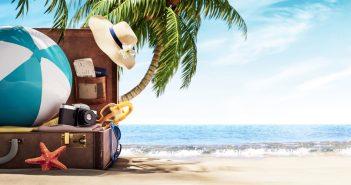 Preparare la valigia per il mare