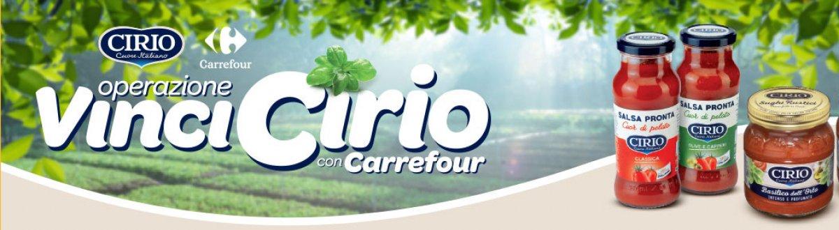 Vinci forniture cirio o buoni spesa da 50 for Arredo giardino carrefour 2017