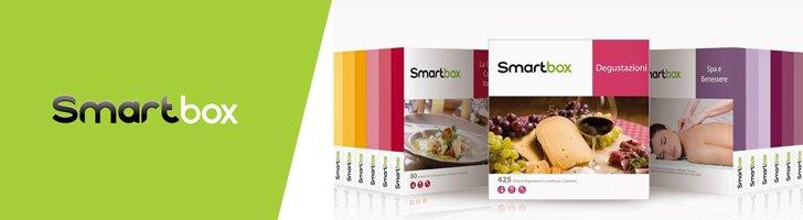 Smartbox 10 di sconto sui cofanetti for Smartbox fuga di tre giorni due cene