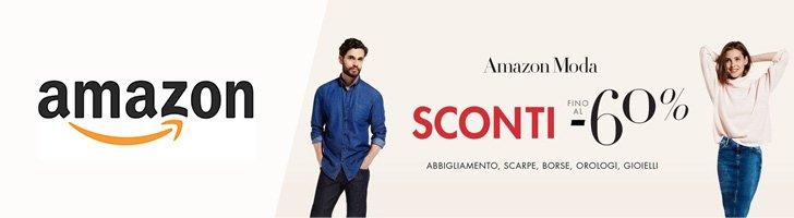 Saldi invernali abbigliamento amazon sconti fino al 60 for Sconti coupon amazon