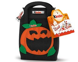 Shopper Halloween di Kinder omaggio