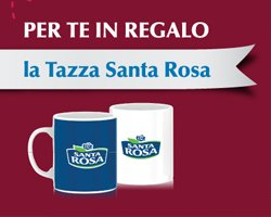 Santa Rosa: tazza in regalo e vinci Kenwood Cooking Chef Gourmet