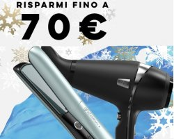 WINTER SALE TRILAB - Risparmi fino a 70€ su GHD