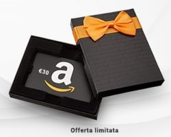 Per te un Buono Regalo Amazon da 30€!